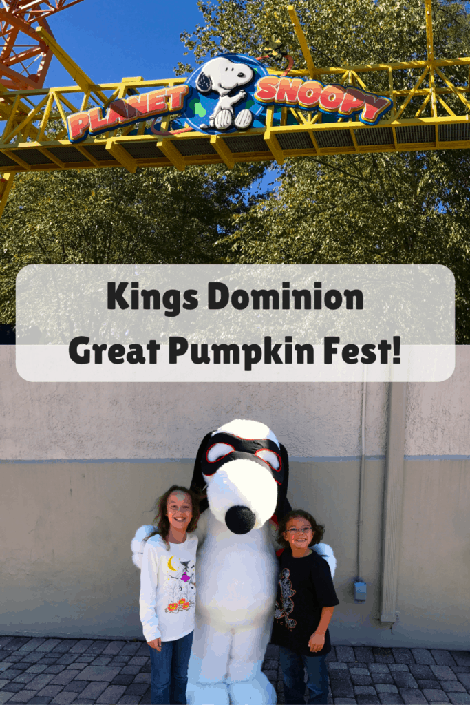 Kings Dominion Great Pumpkin Fest Fun