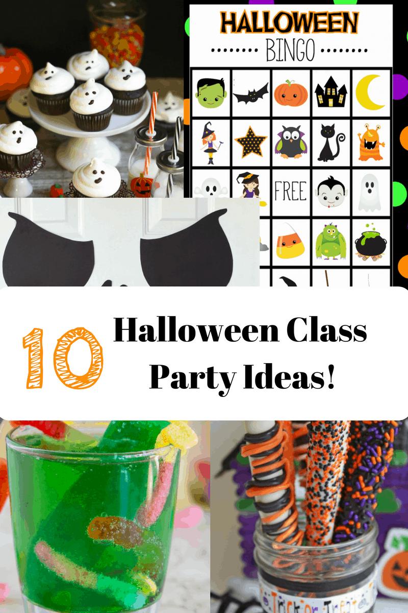 Classroom Party Ideas ~ Halloween class party ideas teachable mommy