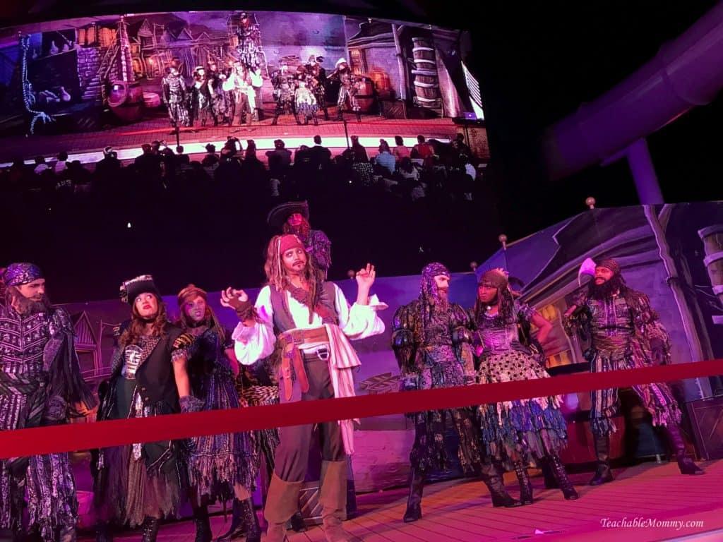 Disney Dream Pirate Night