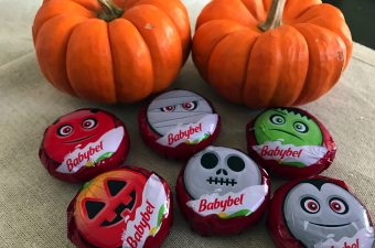 Mini Babybel Cheesy Halloween Fun