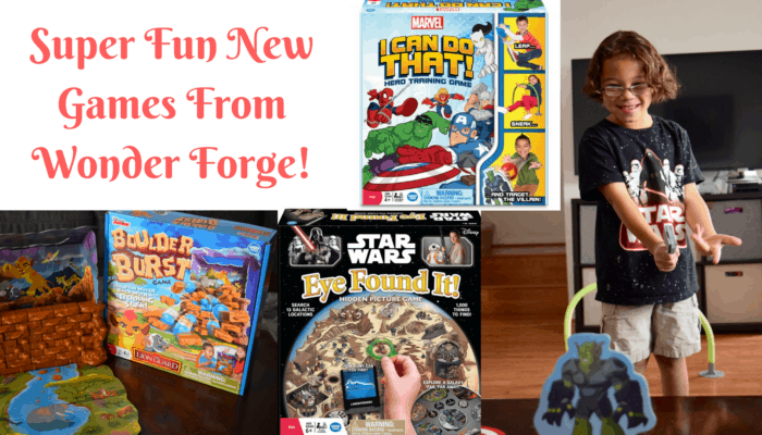 Fun Family Games From Wonder Forge!