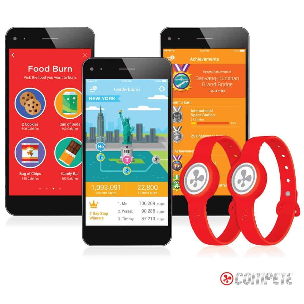 Nabi Compete Activity Tracker
