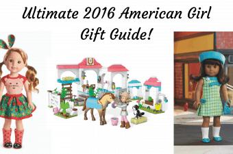 Ultimate 2016 American Girl Gift Guide
