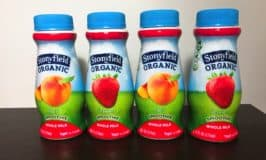 Delicious New Stonyfield Whole Milk Smoothies