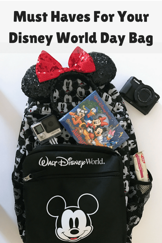 Must Haves For Your Disney World Day Bag