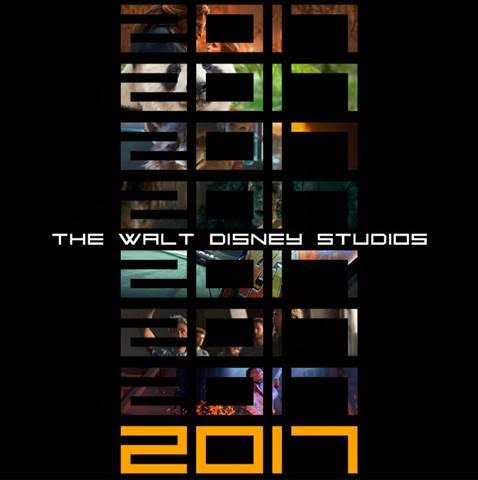 2017 Walt Disney Studios Movie Lineup