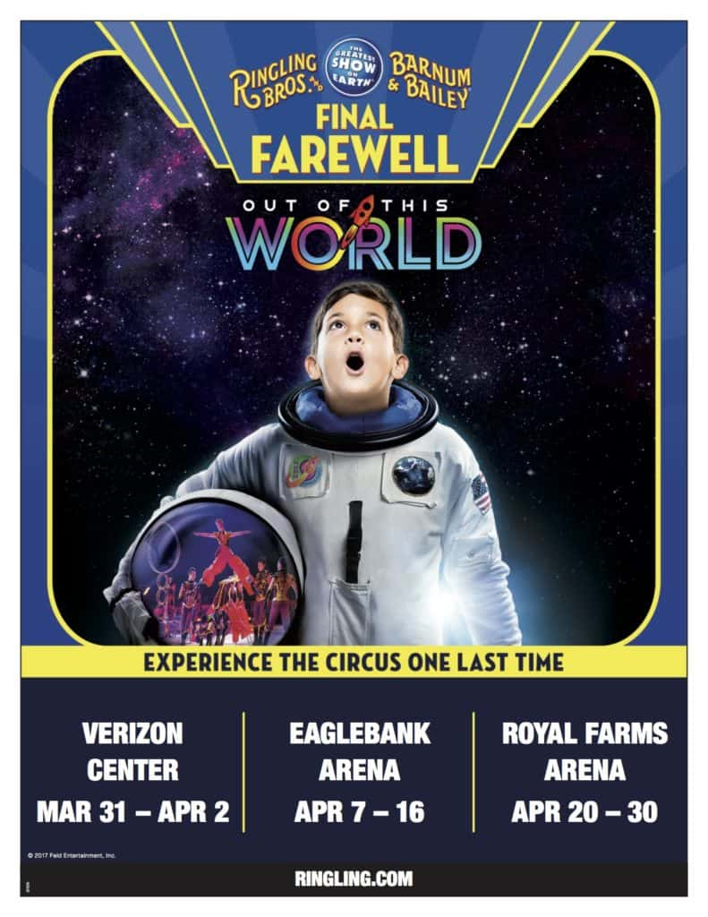 Ringling Bros Out of this World