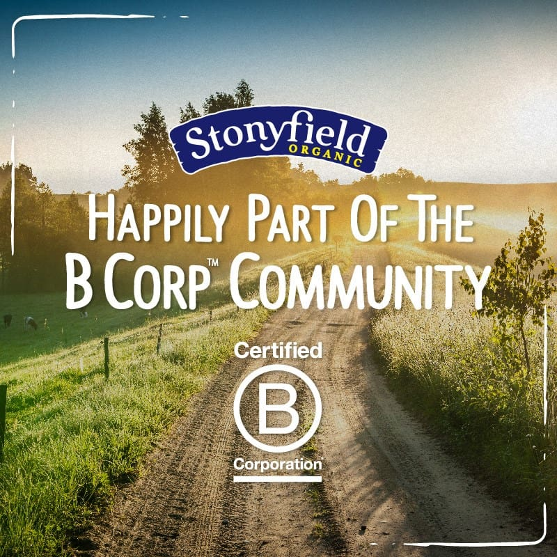 Stonyfield is Being the Change