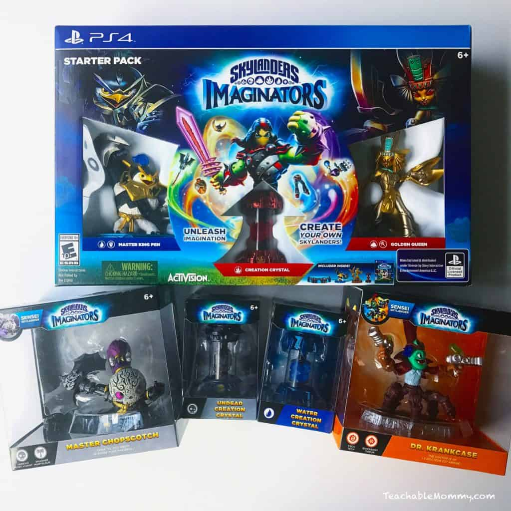 Fill Their Baskets With Skylanders Imaginators