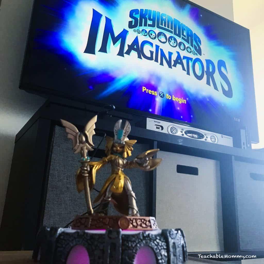 Fill Their Baskets With Skylanders Imaginators
