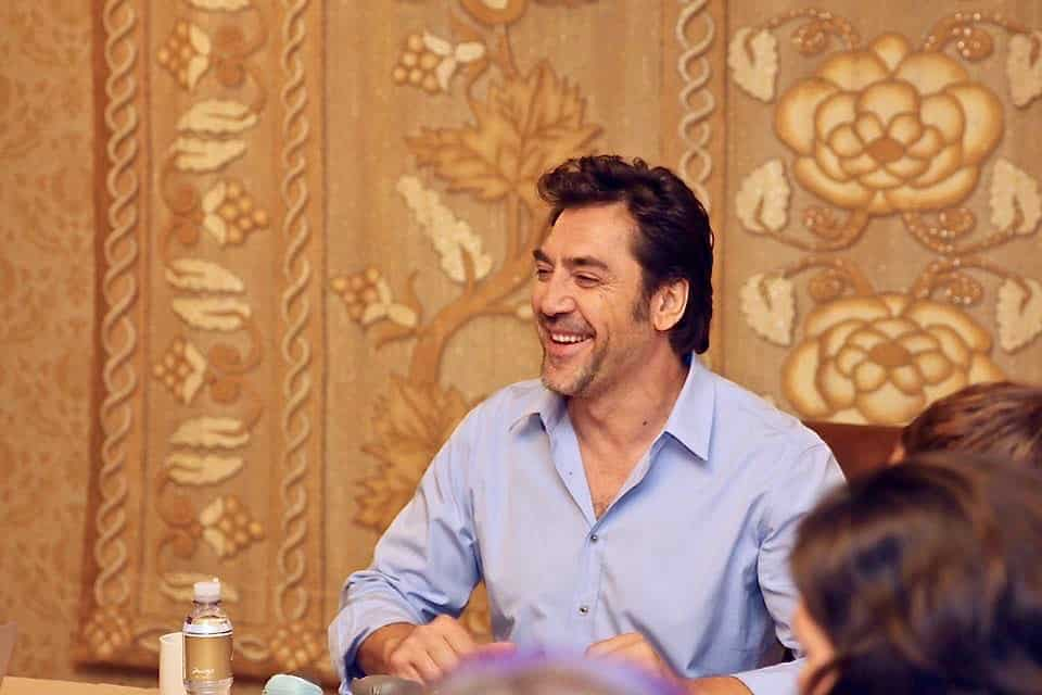 Interview with Captain Salazar Himself Javier Bardem