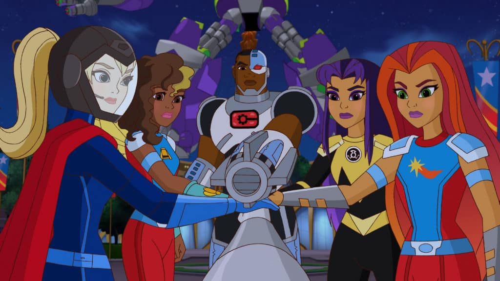 DC Super Hero Girls: Intergalactic Games DVD Review