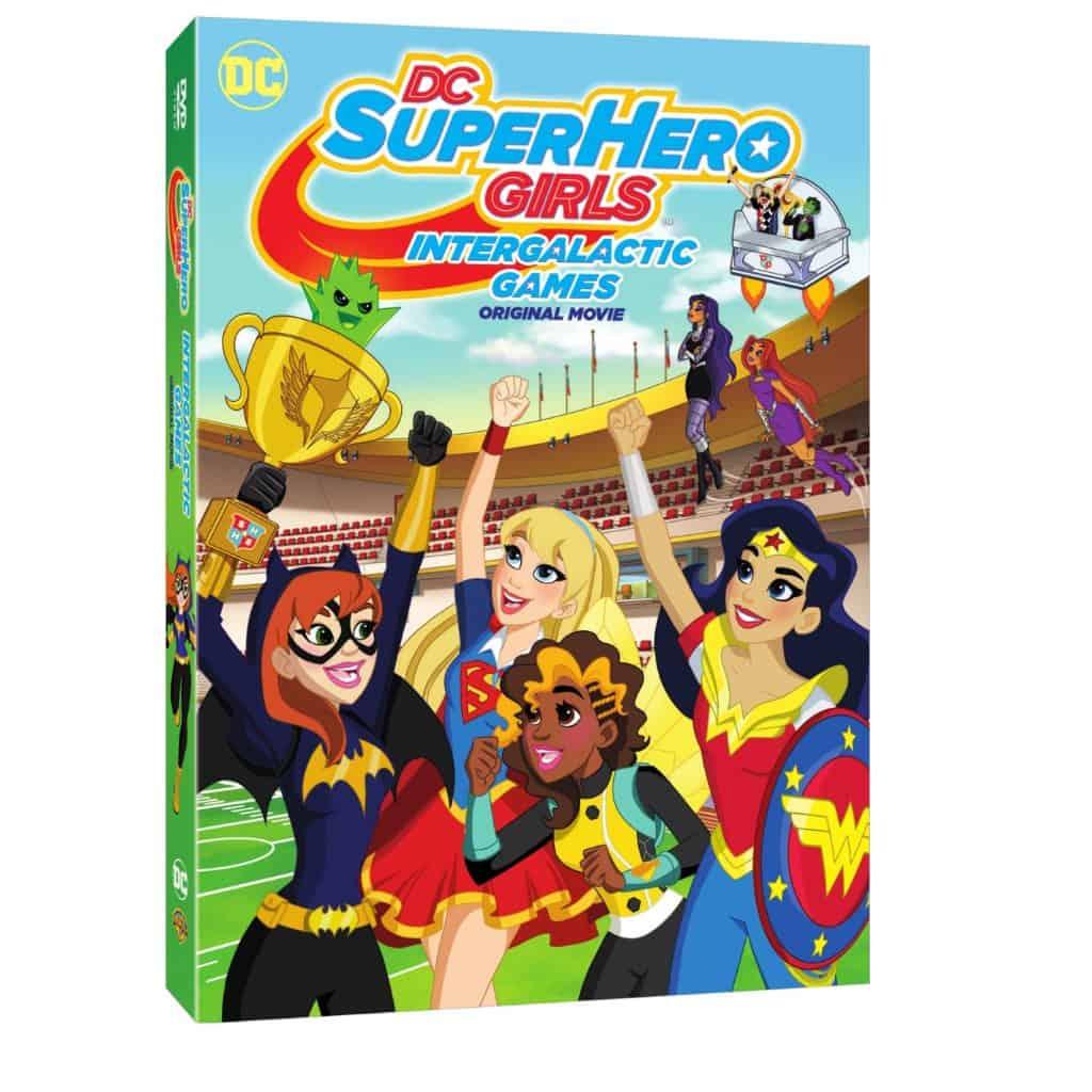 DC Super Hero Girls: Intergalactic Games DVD Review