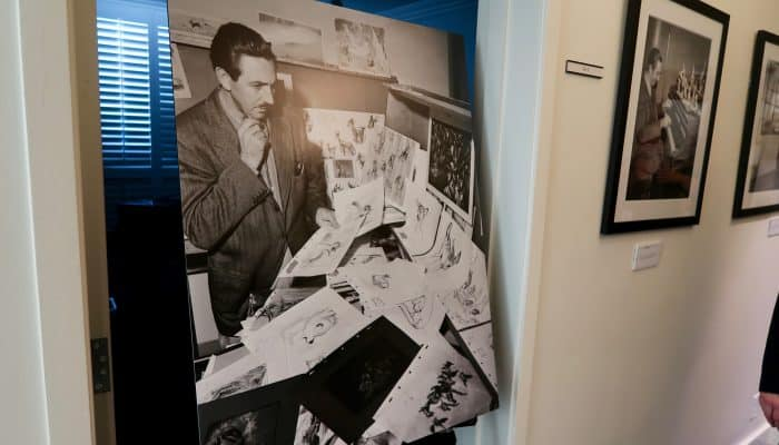 Touring Walt Disney's Office