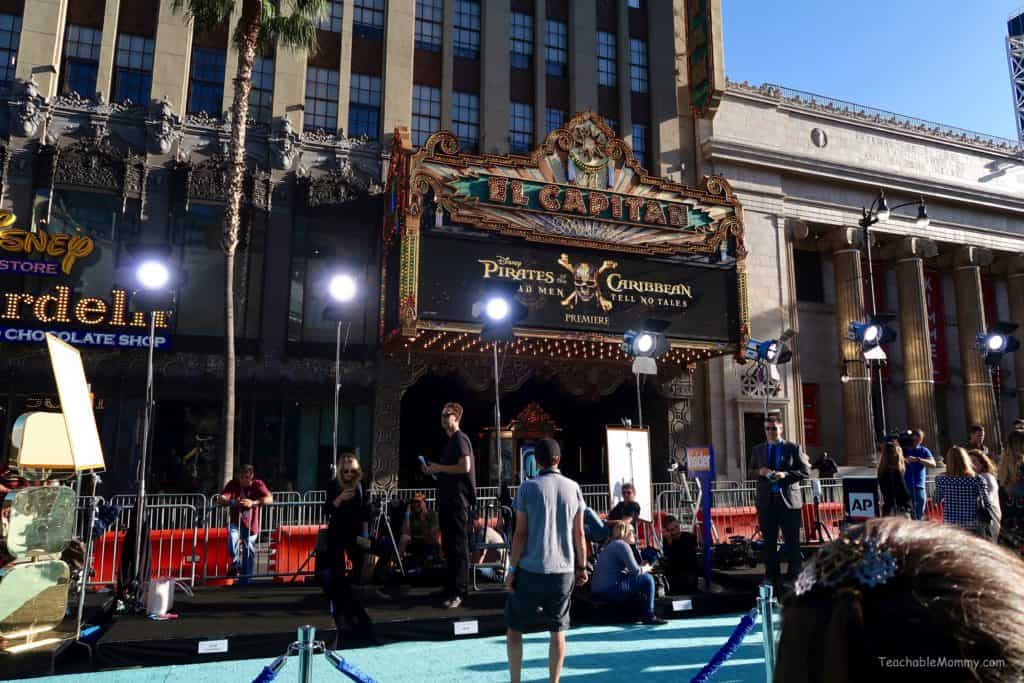 Pirates of the Caribbean Dead Men Tell No Tales Red Carpet Premiere