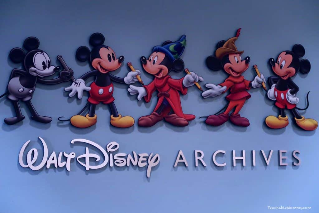 Journey into the Disney Archives