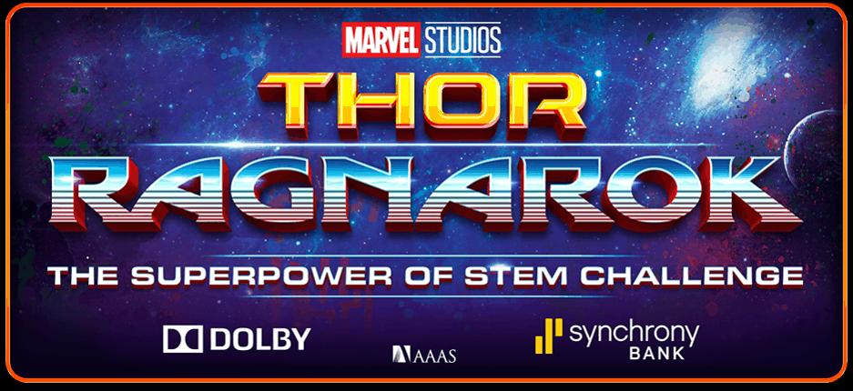 Thor Ragnarok Superpower of STEM Challenge