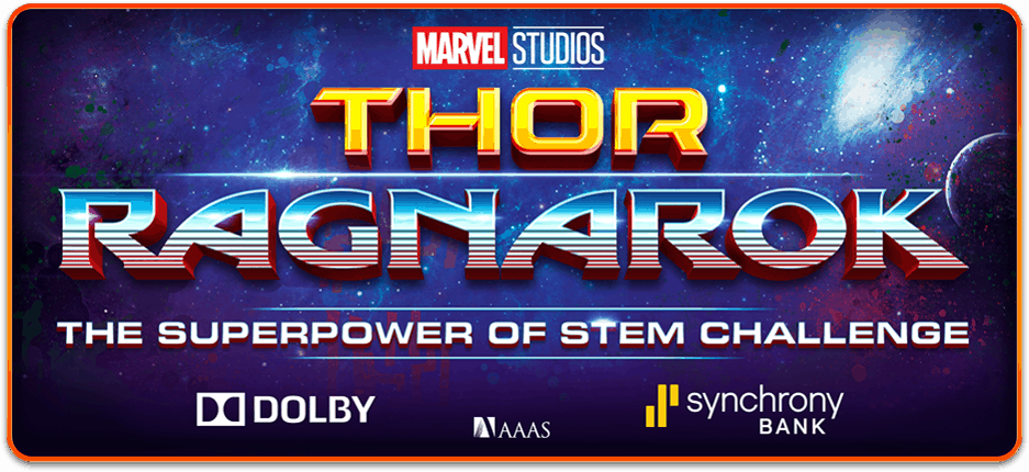 Thor Ragnarok Superpower of STEM Challenge