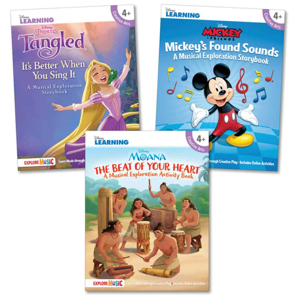 New Disney Musical Exploration Books
