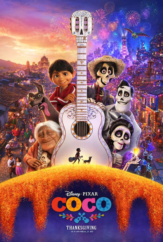 New COCO Trailer and Coloring Sheets