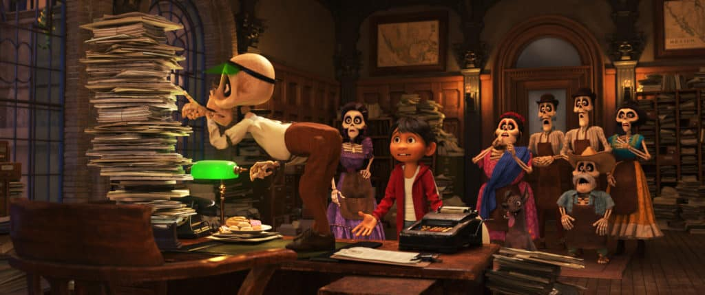 New COCO Trailer and Coloring Pages