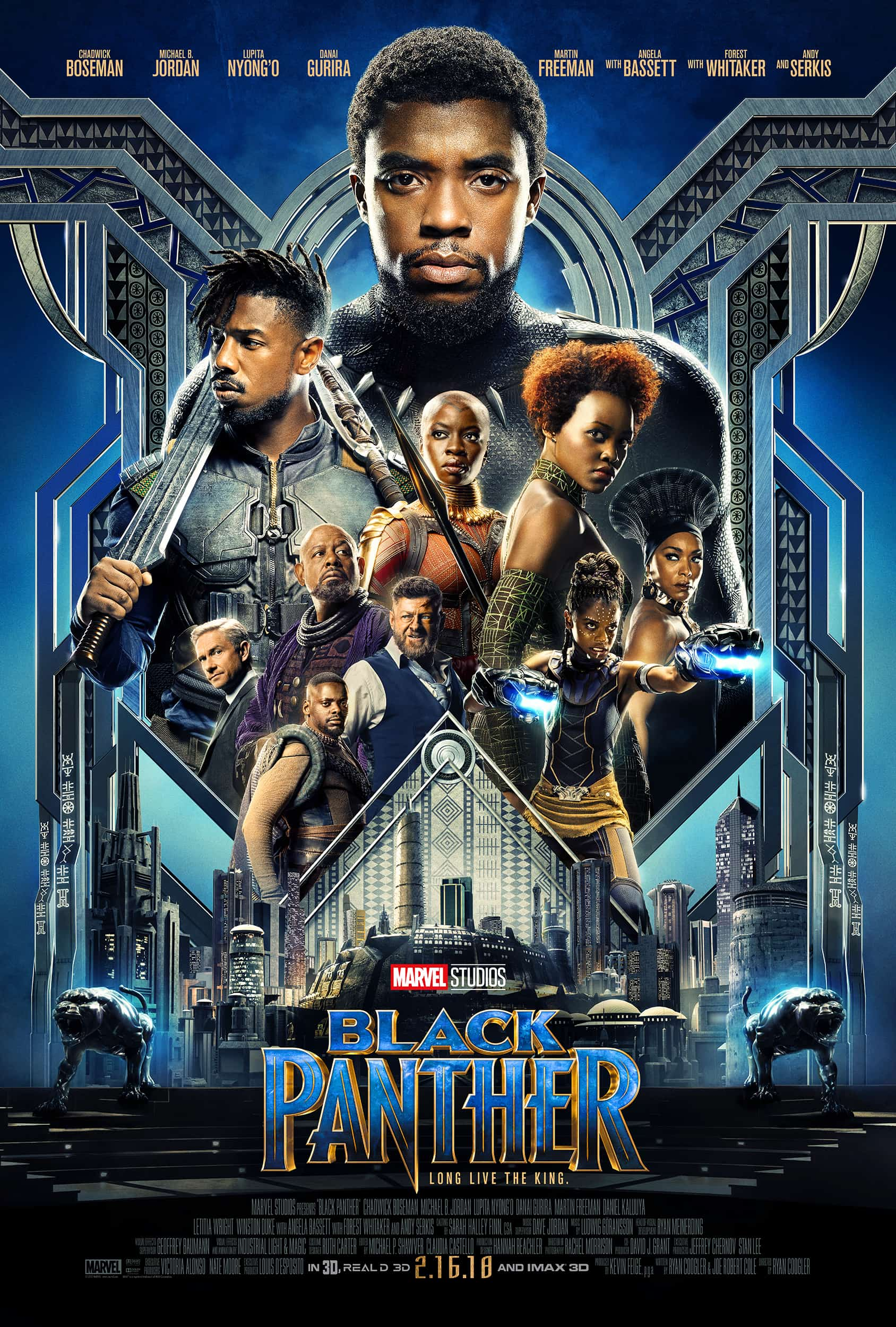 New Black Panther Trailer and Poster