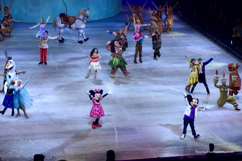 Magic of Disney On Ice Presents Dare to Dream