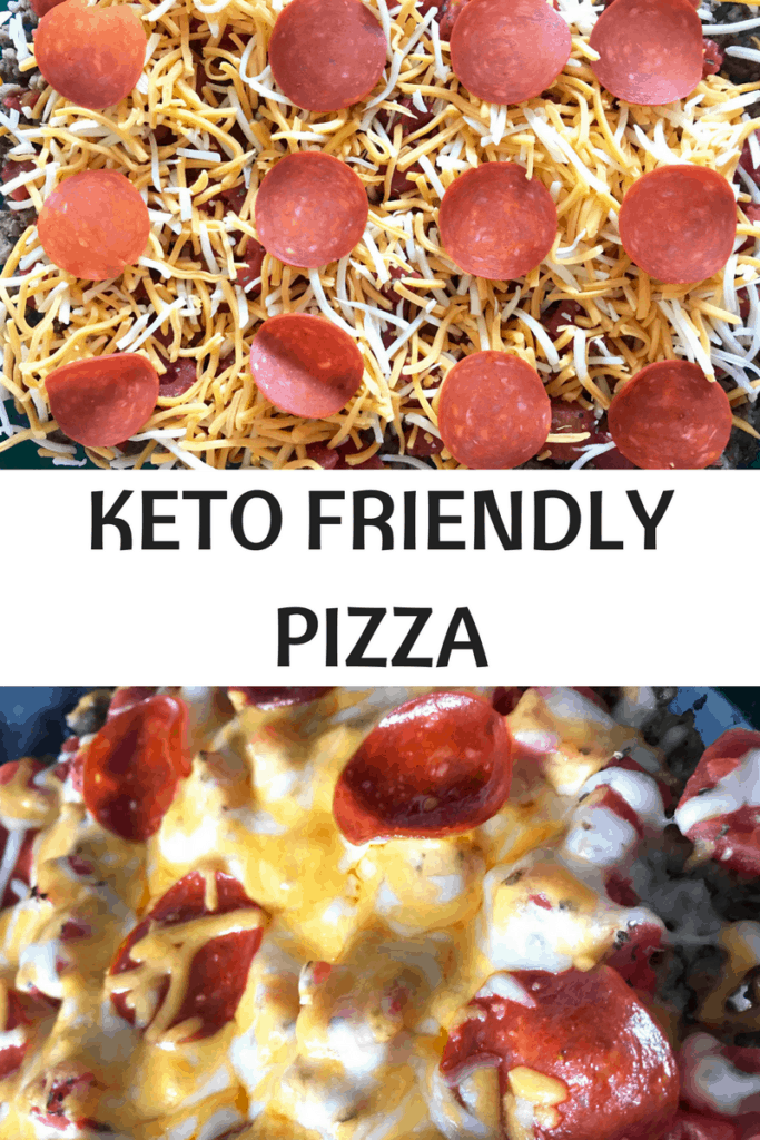 Keto Friendly Pizza