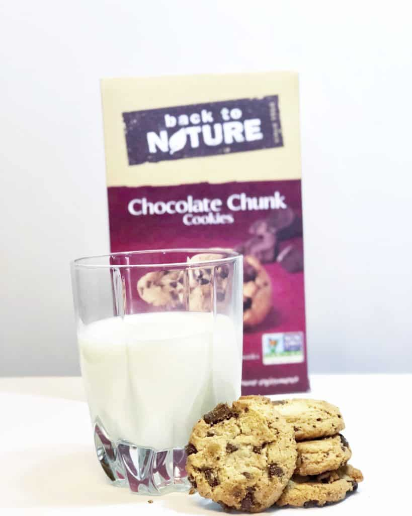 Snack Happy With Back to Nature Chocolate Chunk Cookies