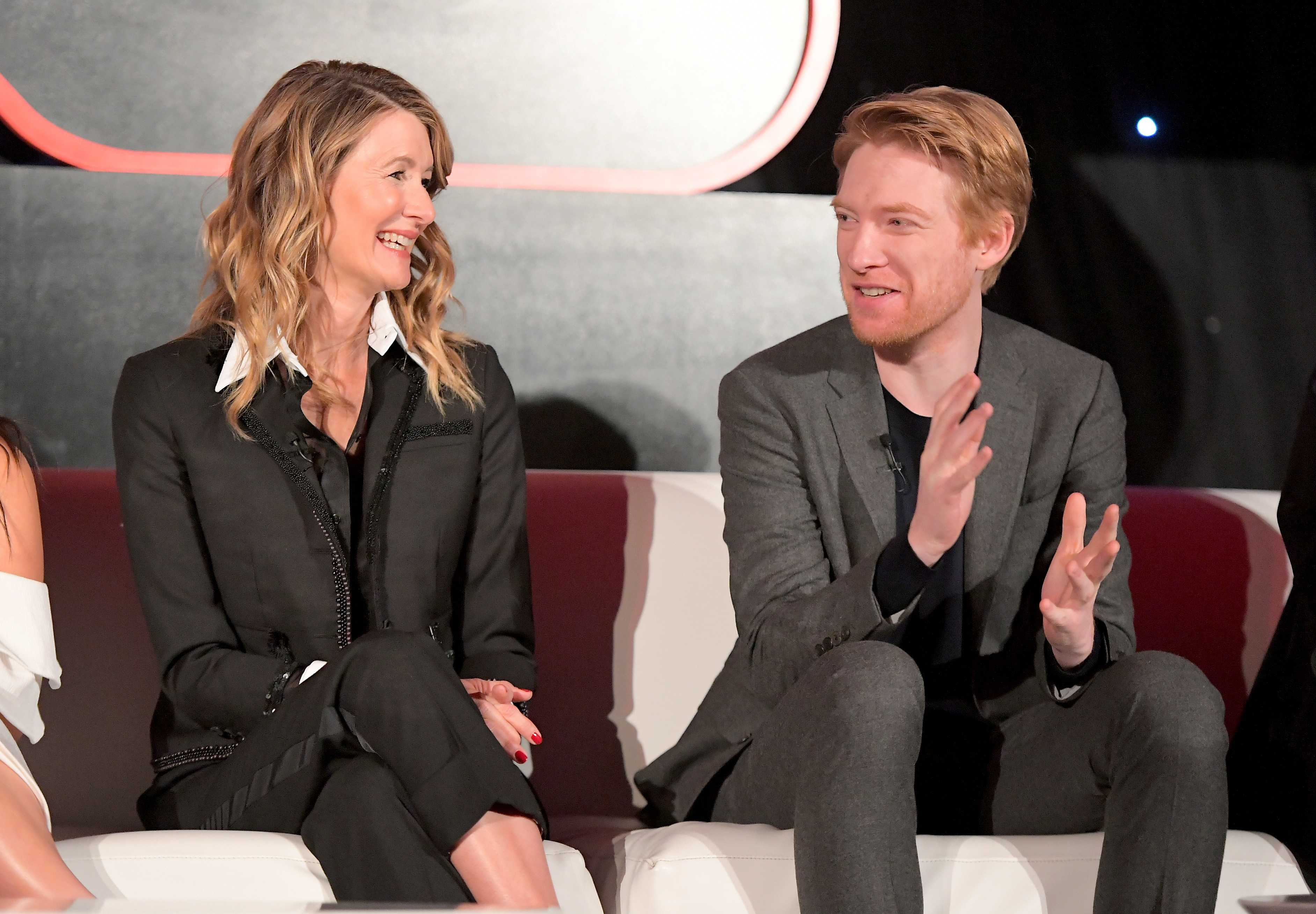 Star wars the last jedi press junket qa thelastjedievent domhnall gleeson i didnt go to the screening so laughter i wanted to wait and see it the way i saw the force awakens which was just with a load of ccuart Images