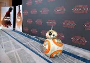 Star Wars The Last Jedi Press Junket