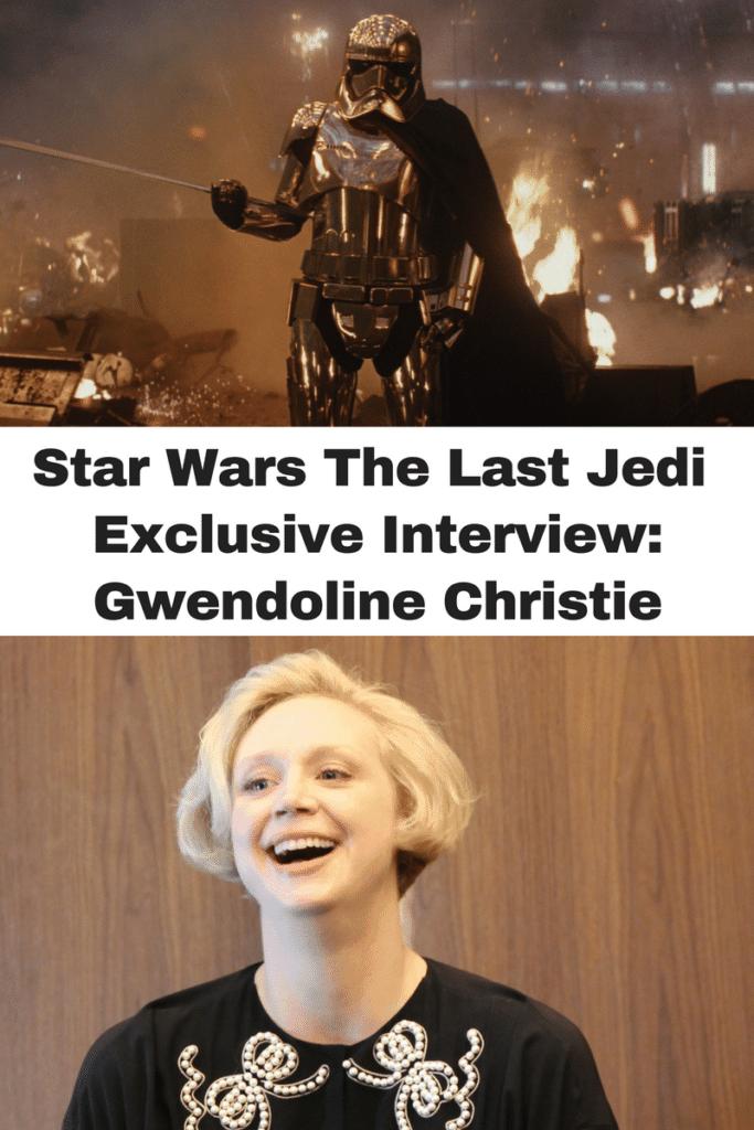 Interview with Captain Phasma Gwendoline Christie
