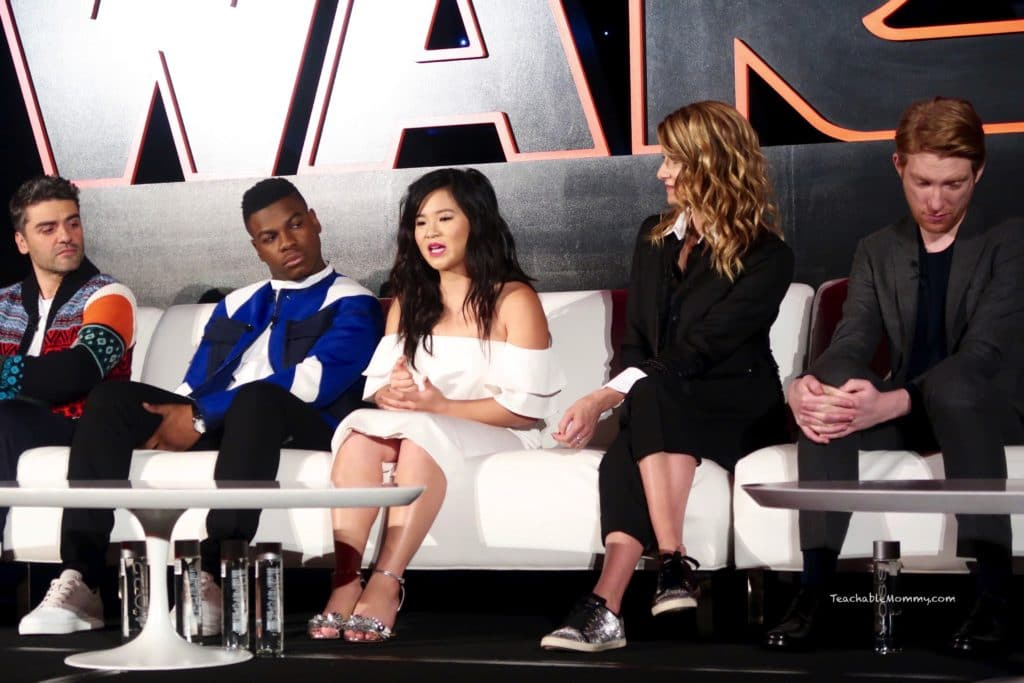 Star Wars The Last Jedi Press Junket Q&A