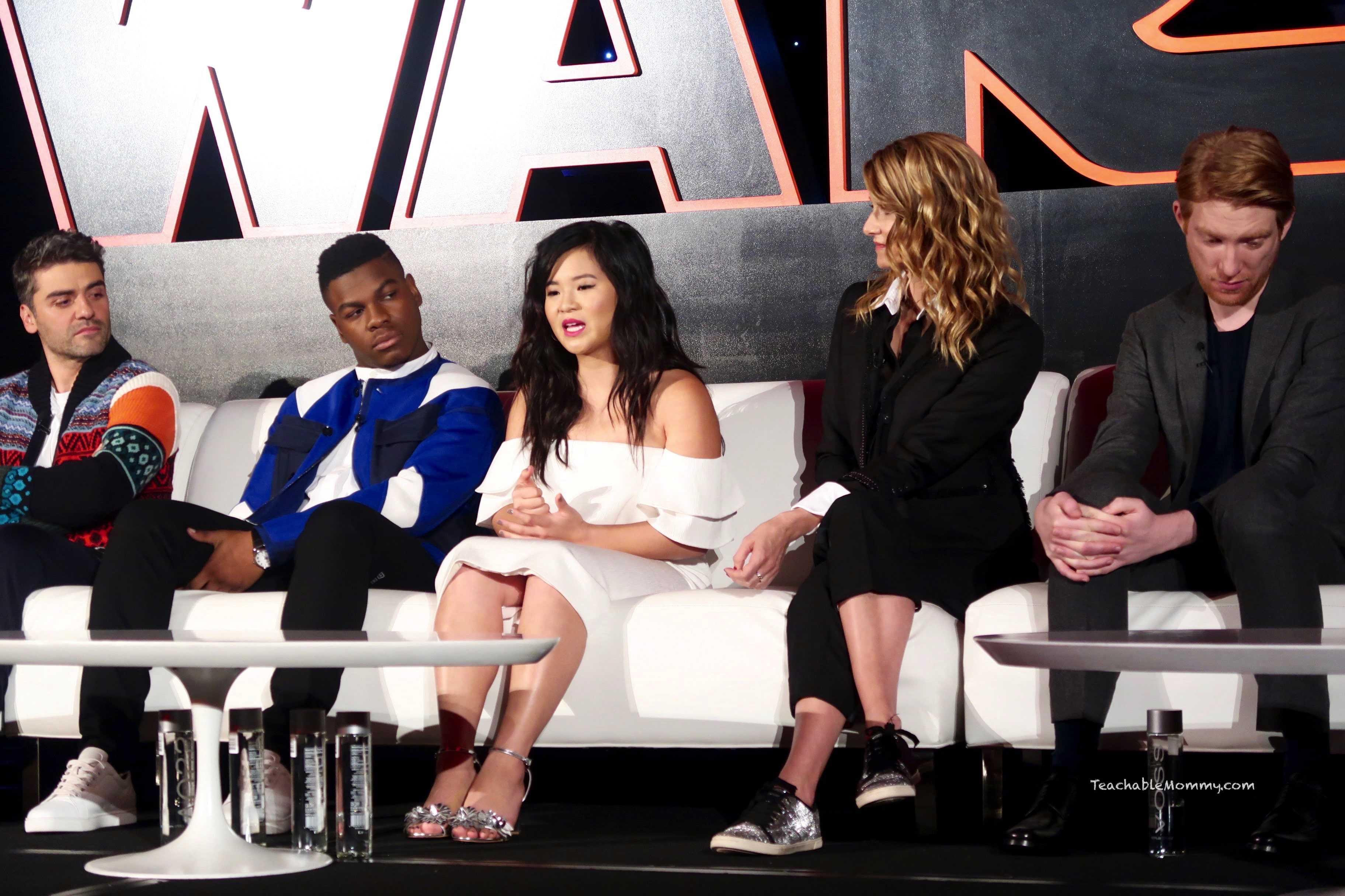 Star Wars The Last Jedi Press Junket Q&A #TheLastJediEvent