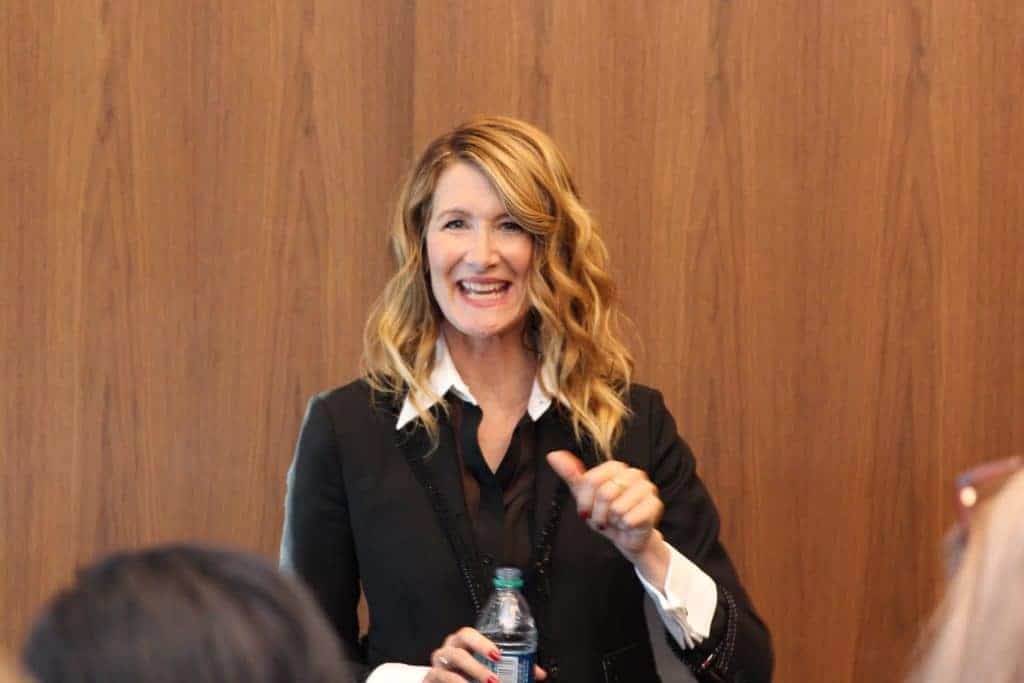 Interview With Vice Admiral Amilyn Holdo Laura Dern