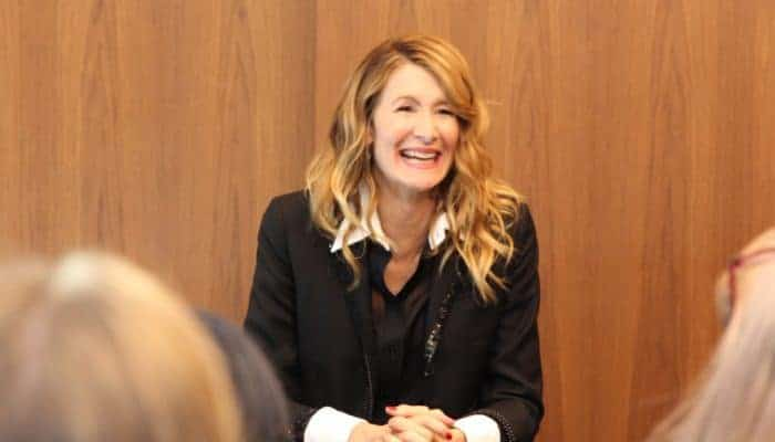 Interview With Vice Admiral Amilyn Holdo, Laura Dern! #TheLastJediEvent