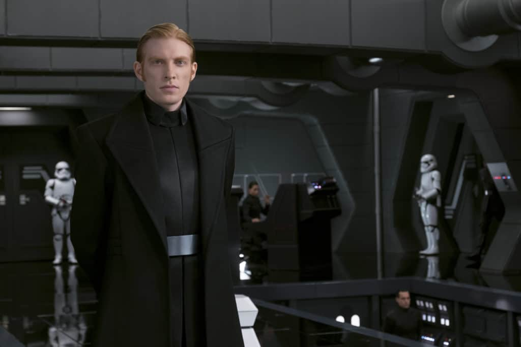 Interview with General Hux Domhnall Gleeson