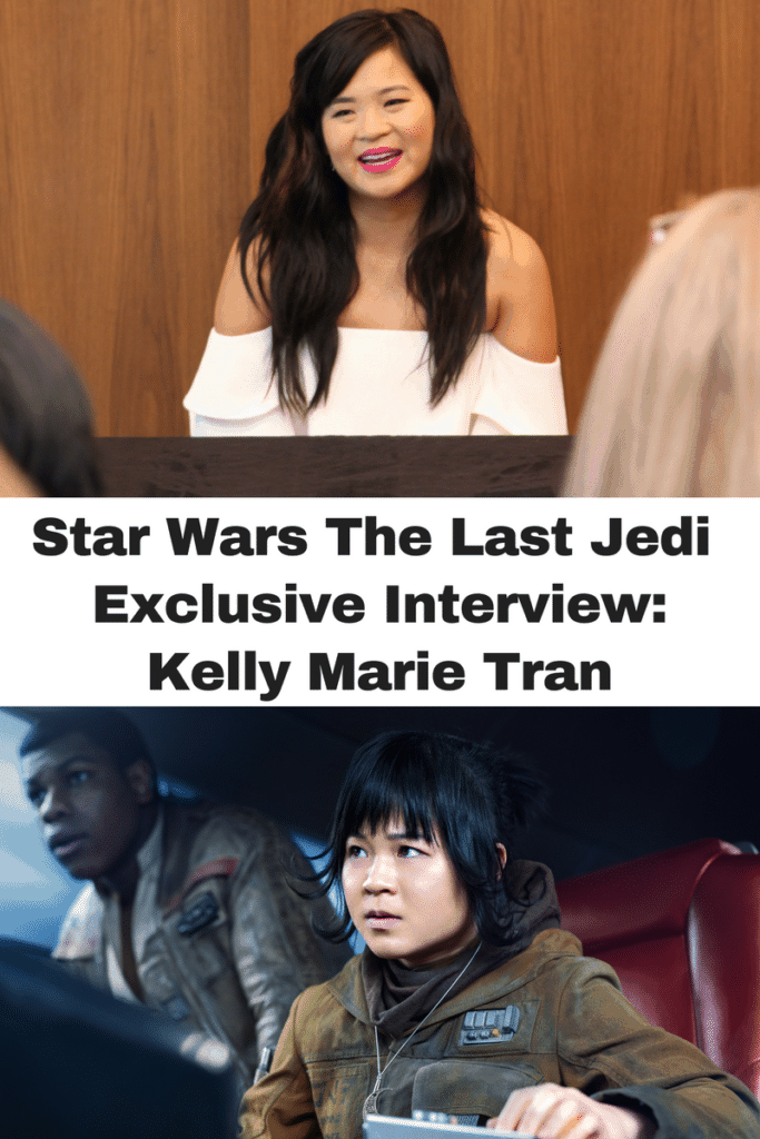 interview with Rose Tico Kelly Marie Tran