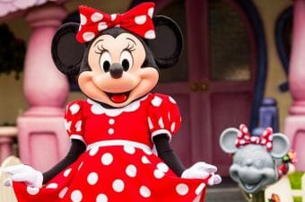 Minnie Mouse Gets Her Star On The Hollywood Walk Of Fame