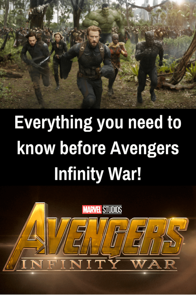 Everything you need to know before Avengers Infinity War!