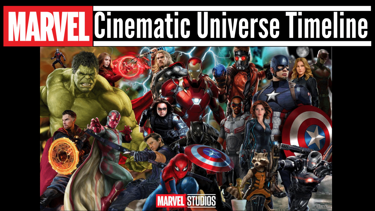 Complete Guide To The Mcu Timeline With Ashley And Company