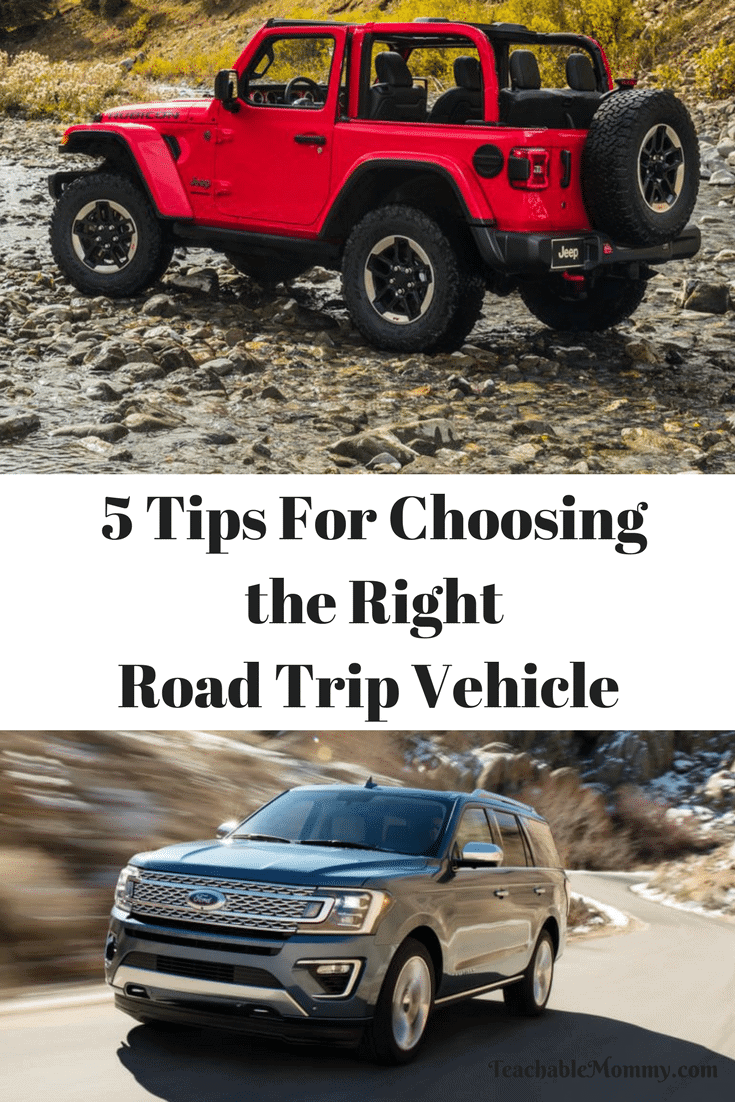 Choosing the Right Road Trip Vehicle