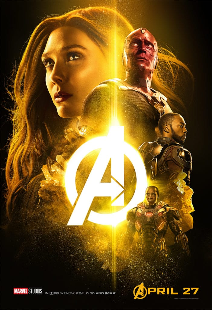 New Avengers Infinity War Character Posters