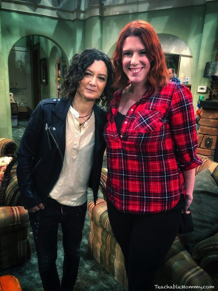 Roseanne Set Visit