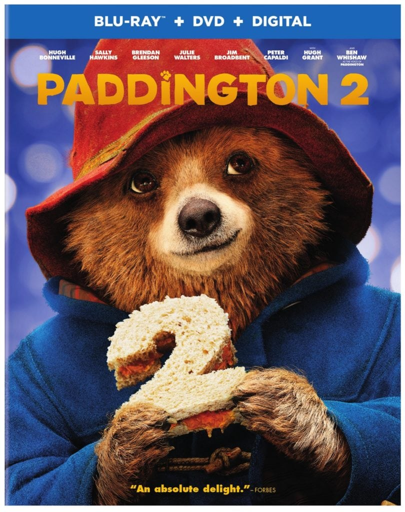 Bring Home Paddington 2 on Blu-Ray