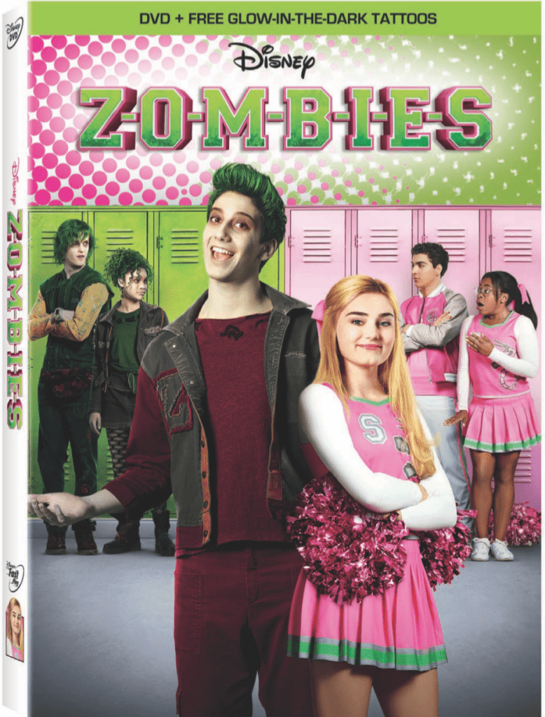 Disney Channel ZOMBIES DVD