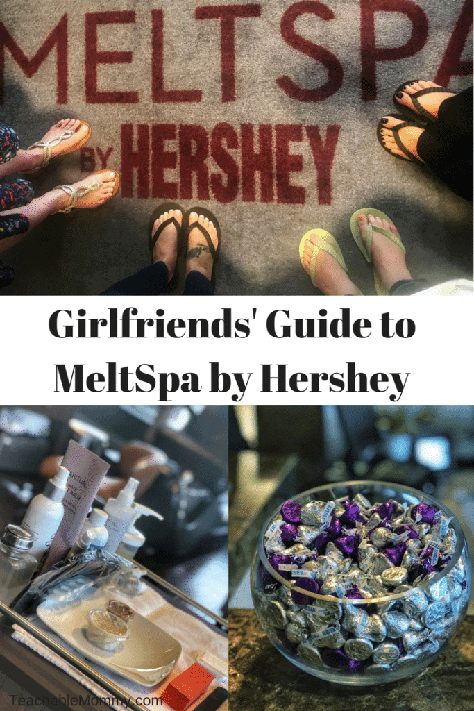 Girlfriends' Guide to MeltSpa by Hershey
