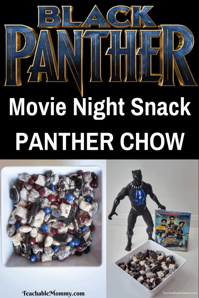 Black Panther Movie Night Snack