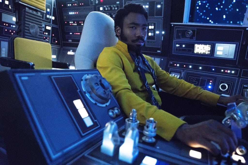 New Solo Clips and Movie Stills