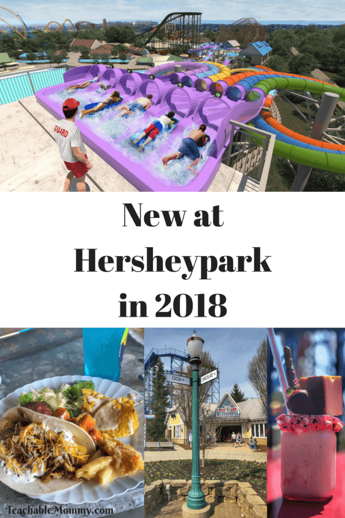 Experience Hersheypark in 2018